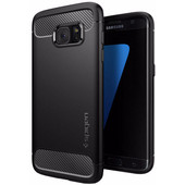 Spigen Rugged Armor Samsung Galaxy S7 Edge Zwart