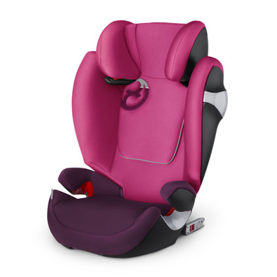 Image of Cybex Solution M-FIX Mystic Pink/Purple