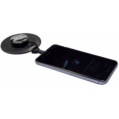 Image of Aircharge Wireless Charging Keyring Receiver Zilver