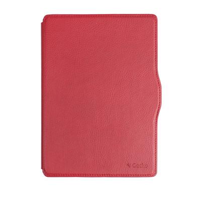 Image of Gecko - Slimfit Waterproof Hoes Voor Kobo Aura One (Rood)