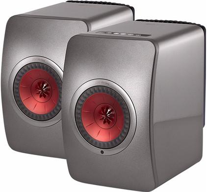KEF LS50 Wireless Grijs (per paar)