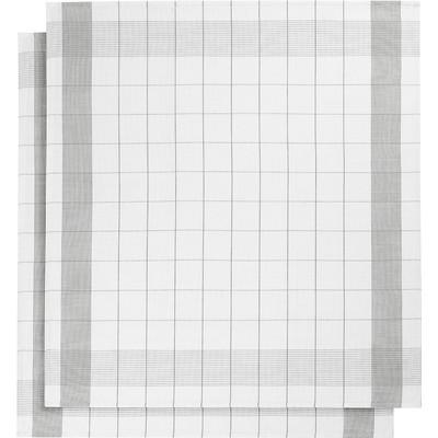 Image of De Witte Lietaer Mixte Theedoeken 2 stuks Grijs