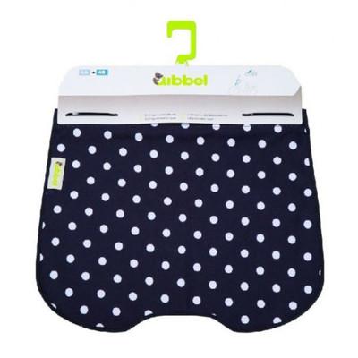 Image of Qibbel To Go Windscherm inclusief Stylingset Polka Dot zwart