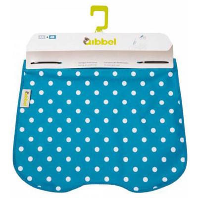 Image of Qibbel To Go Windscherm inclusief Stylingset Polka Dot blauw