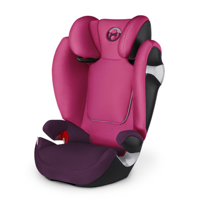Image of Cybex Solution M Mystic Pink/Purple