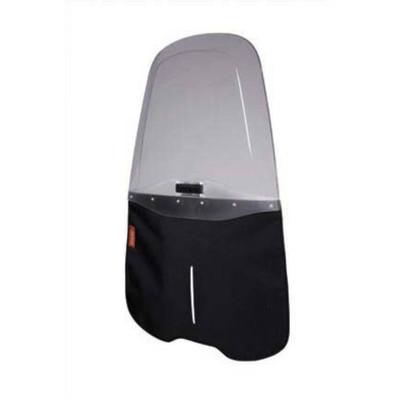 Image of Qibbel To Go Windscherm inclusief Stylingset zwart