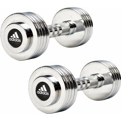 Image of Adidas Chrome Dumbbell 1x 5 kg