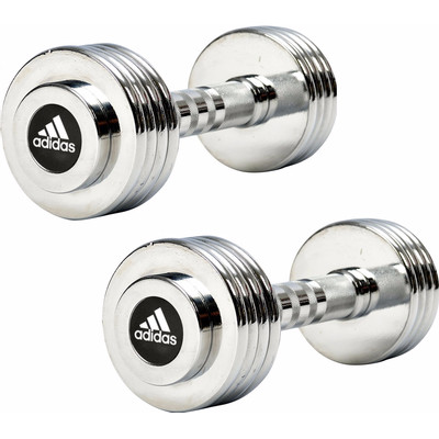 Image of Adidas Chrome Dumbbell 1x 5 kg