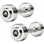 Adidas Chrome Dumbbell 2x 5 kg