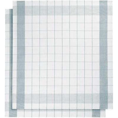 Image of De Witte Lietaer Mixte Theedoeken 2 stuks Blauw