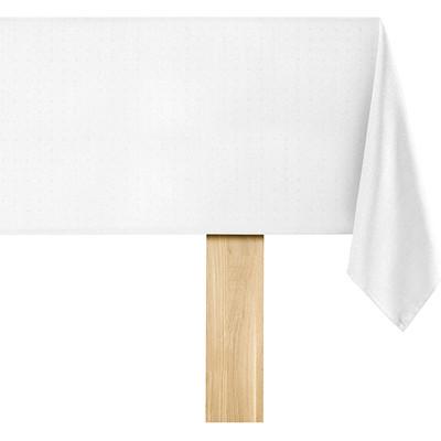 Image of De Witte Lietaer Puntos Tafelkleed Wit 140 x 220 cm