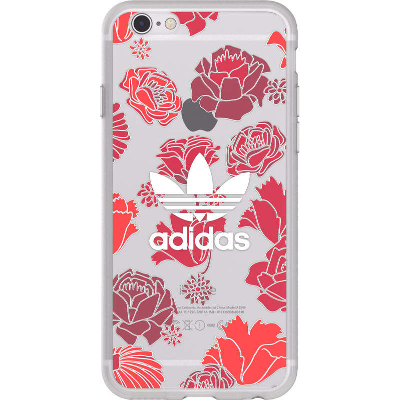 Originals Clear Case voor de iPhone 6-6s Bohemian Red