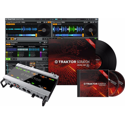 Image of Native Instruments Traktor Scratch A10