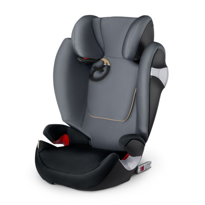 Image of Cybex Solution M-FIX Graphite Black/Dark Grey