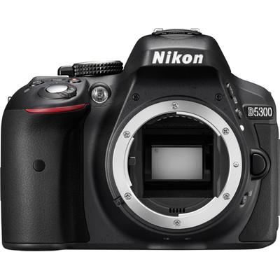 Image of Nikon D5300 body zwart