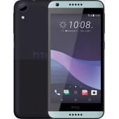 HTC Desire 650 Zwart/Blauw