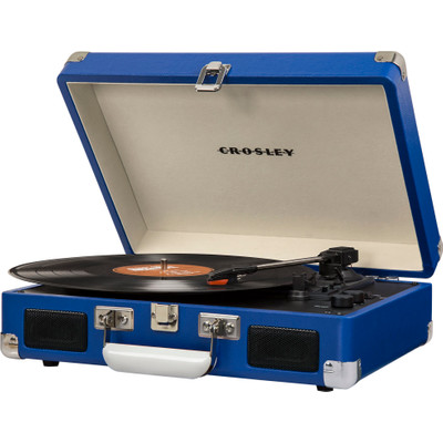 Image of Crosley Cruiser Deluxe Blauw