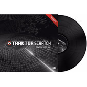 Native Instruments Traktor Scratch Control Vinyl MKII Black