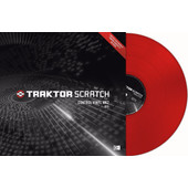 Native Instruments Traktor Scratch Control Vinyl MKII Red