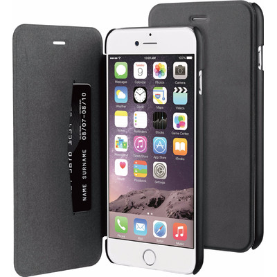 Image of BeHello Apple iPhone 6 Plus/6s Plus Book Case Zwart