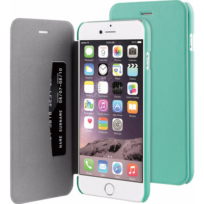 Image of BeHello Apple iPhone 6 Plus/6s Plus Book Case Groen