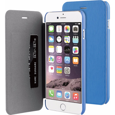 Image of BeHello Apple iPhone 6 Plus/6s Plus Book Case Blauw