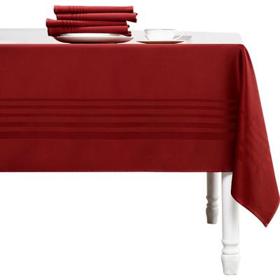Image of De Witte Lietaer Deauville Tafelkleed Rood 160 x 350 cm