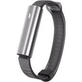 Misfit Ray Polished Stainless Steel/Zwart Sport Band