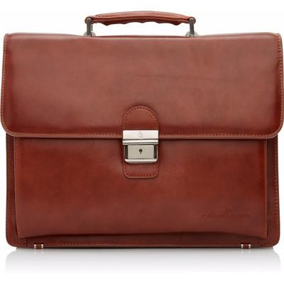 Image of Castelijn & Beerens Realta Laptoptas 13,3 Cognac