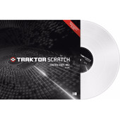 Native Instruments Traktor Scratch Control Vinyl MKII White