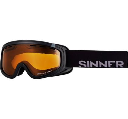 Sinner Visor III OTG Black + Orange Sintec Trans+ Lens