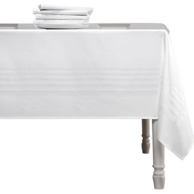Image of De Witte Lietaer Deauville Tafelkleed Wit 160 x 350 cm