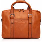 """Castelijn & Beerens Bravo Laptoptas 15,6"""" Cognac"""