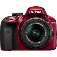 Nikon D3300 Rood + AF-P DX 18-55mm F/3.5-5.6G VR