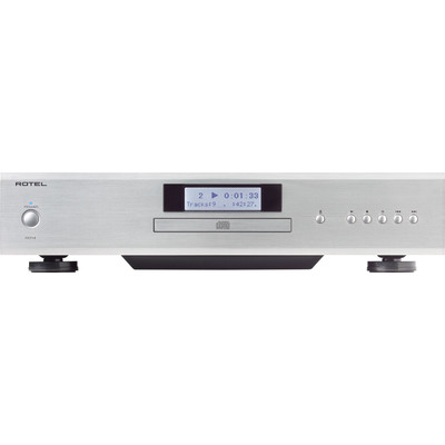 Image of Rotel CD14 Silver Stereo CD Player EC