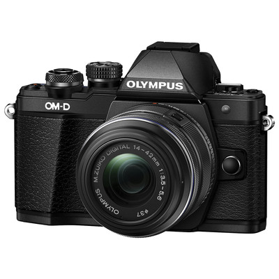 Image of Olympus E-M10 MKII DZK IIR Zwart