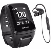 TomTom Runner 2 Cardio + Music + Headphones Black - S