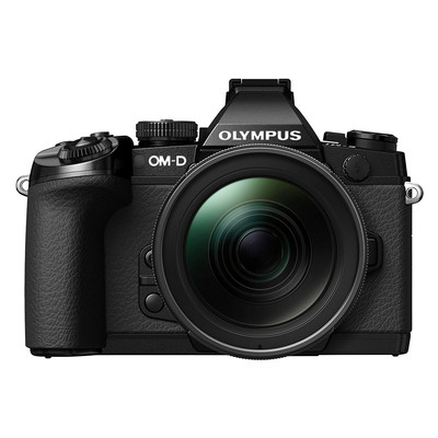 Image of Olympus E-M1 Mark II systeemcamera Zwart + 12-40mm