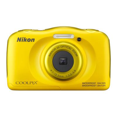 Image of Nikon Coolpix W100 - Geel