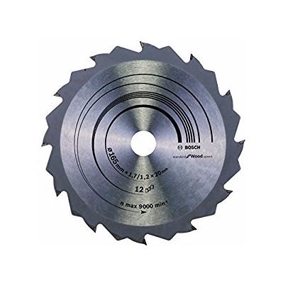 Image of Bosch Cirkelzaagblad Standard Wood 165x1,7x20 12T