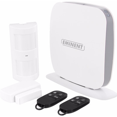 Image of EMINENT - WIFI / SMS / GSM ALARM SYSTEM STARTER KIT WITH APP - Eminent