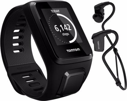TomTom Spark 3 Cardio + Music + Headphones Black - L