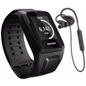 TomTom Spark Cardio + Music + Headphones Black - L