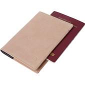 Decoded Leather Passport Holder Rosé