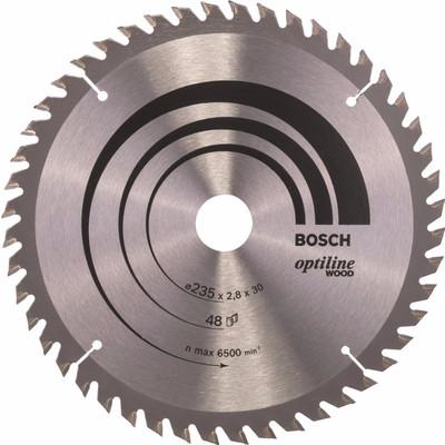 Image of Bosch Cirkelzaagblad Optiline Wood 235x2,8x30 48T