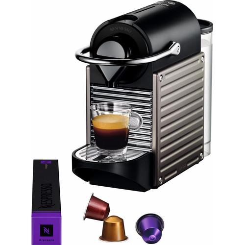 Krups Nespresso Pixie Electric Titan XN3005