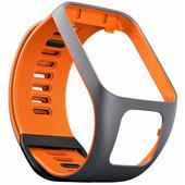 TomTom Spark 3/Runner 3 Horlogebandje Grijs/Oranje - S