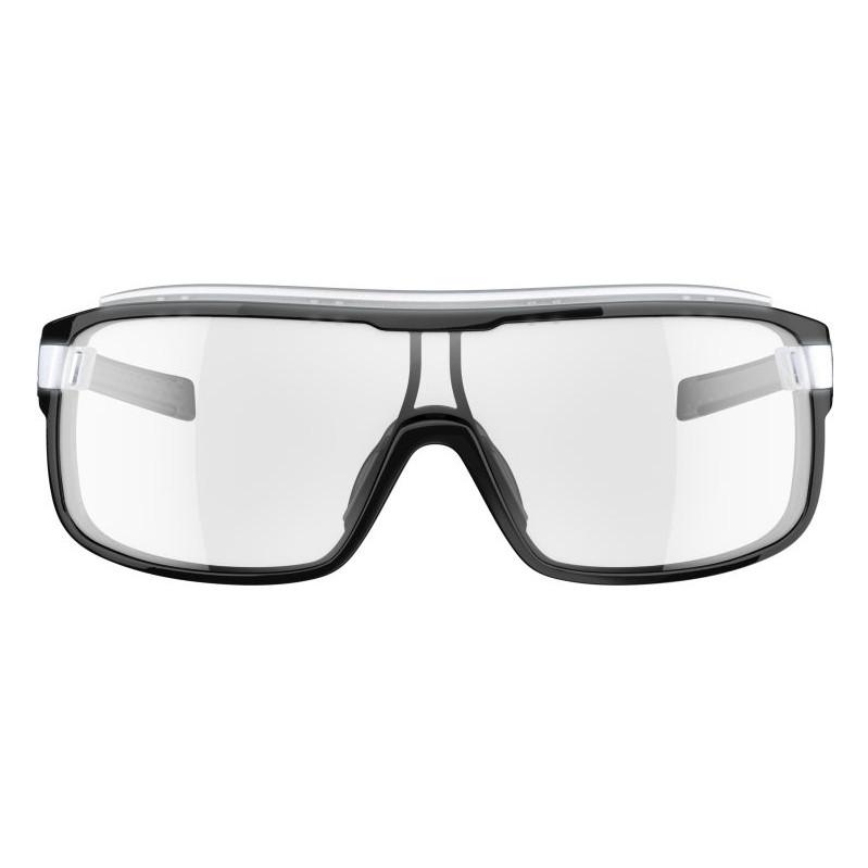 Adidas Zonyk Pro Small Shiny Black Vario Clear Grey Lens