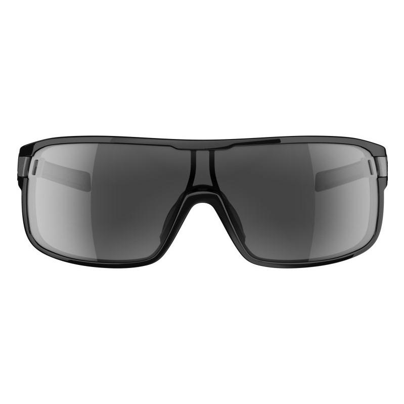 Adidas Zonyk Large Shiny Black-Grey Lens