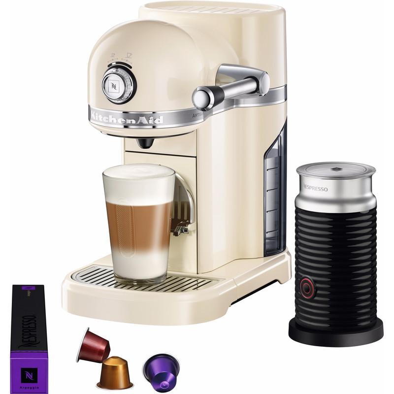 Kitchenaid Nespresso En Aeroccino 5kes0504 Onyx Zwart   Kijkrond